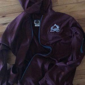 Colorado Avalanche zip up hoodie
